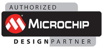 Microchip authorized design partner logo